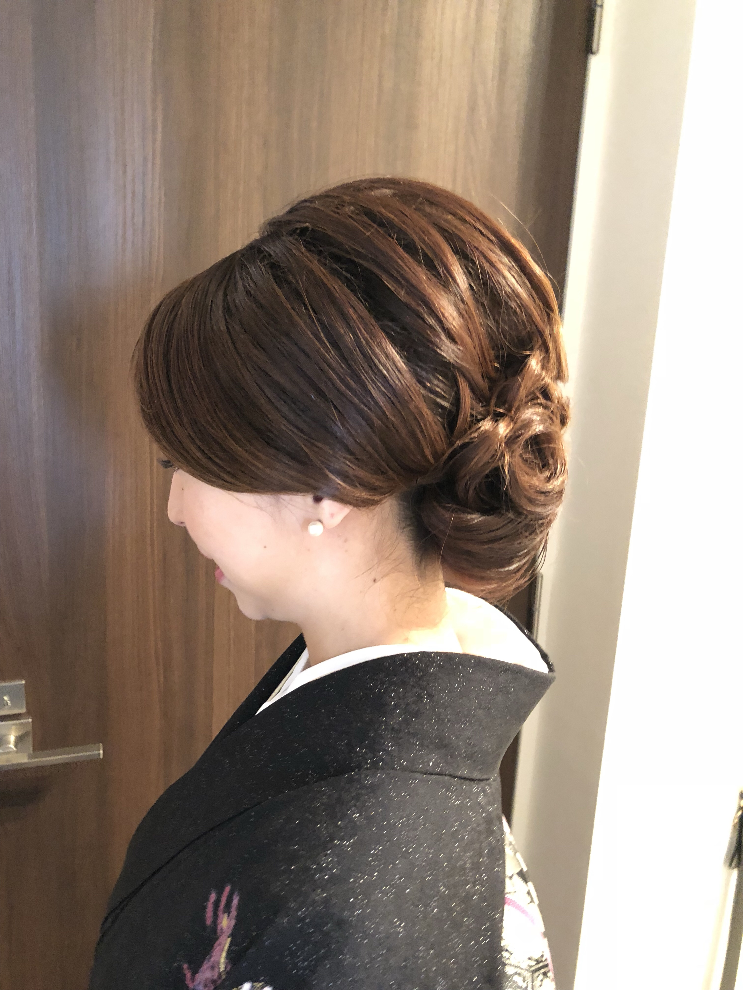 卒業式のお母様の着物着付けとヘアセット   【千葉・船橋 ...
